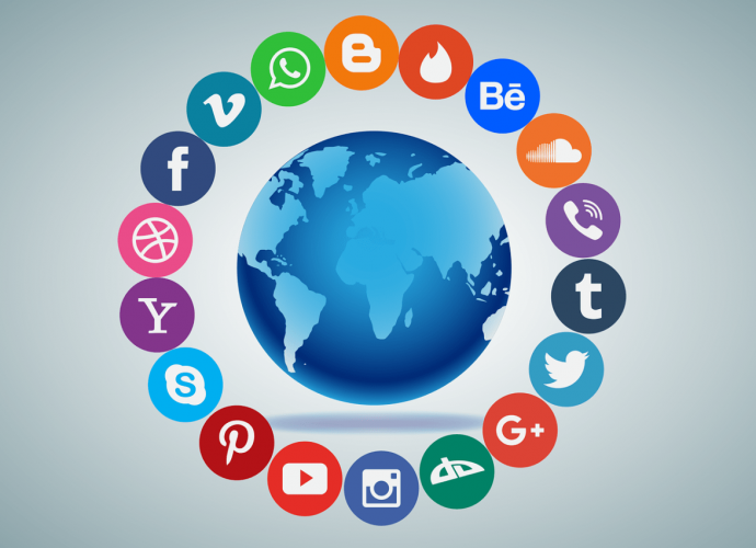social media surrounding globe 690x500 - The Importance Of Social Media Companies